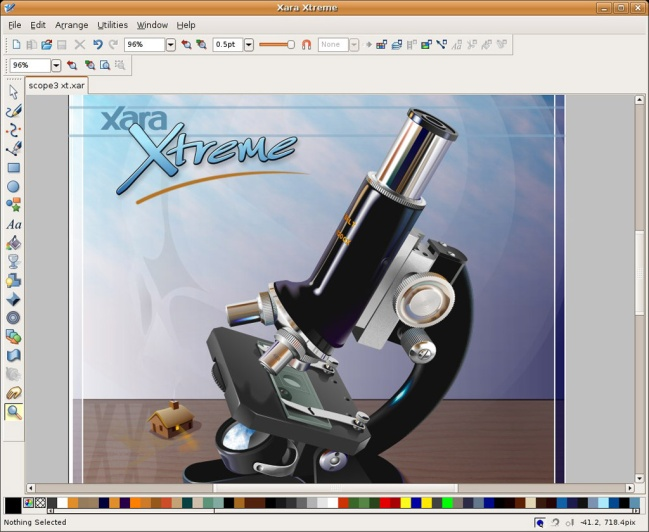Xara Xtreme vector design program