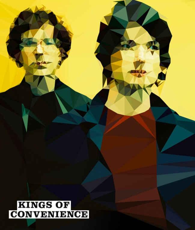 Kings of Convenience Vector
