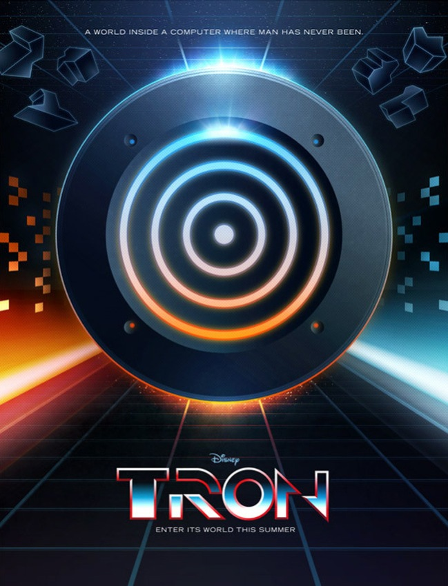 Tron Legacy poster by James White