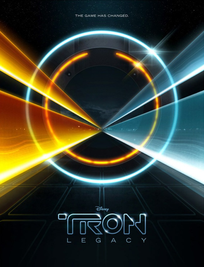 Tron Legacy graphics by James White