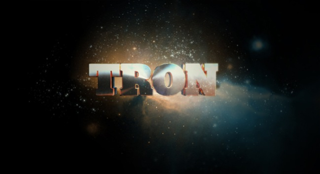 Tron typography by Kultnation