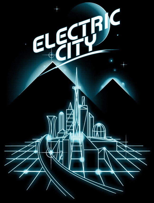 Electric City by Vincent Rogel