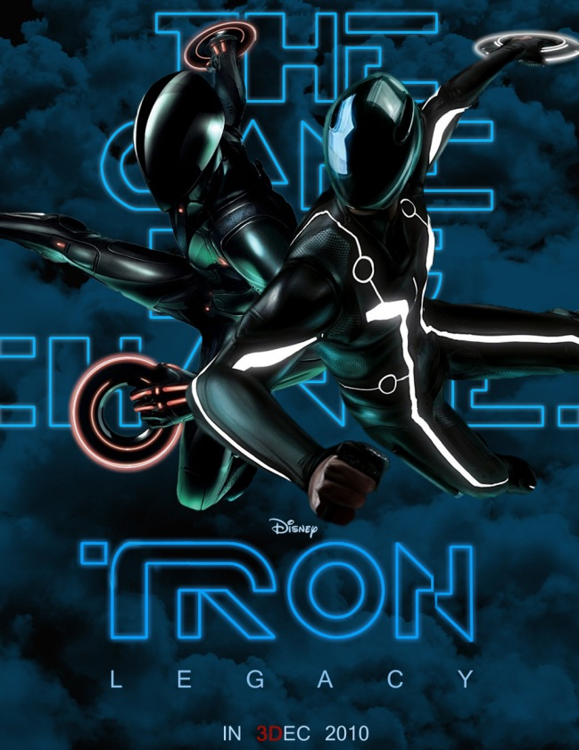 Tron Legacy poster by Agustin