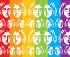 John Lennon Vector Art