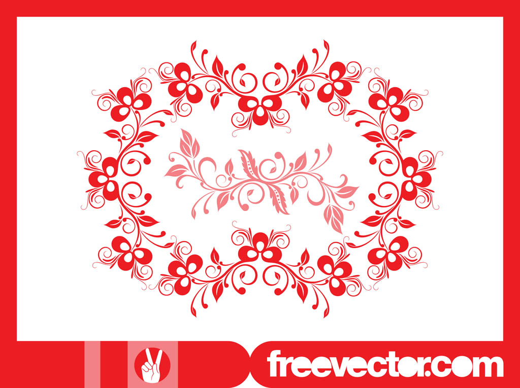 Floral Wreath Graphics