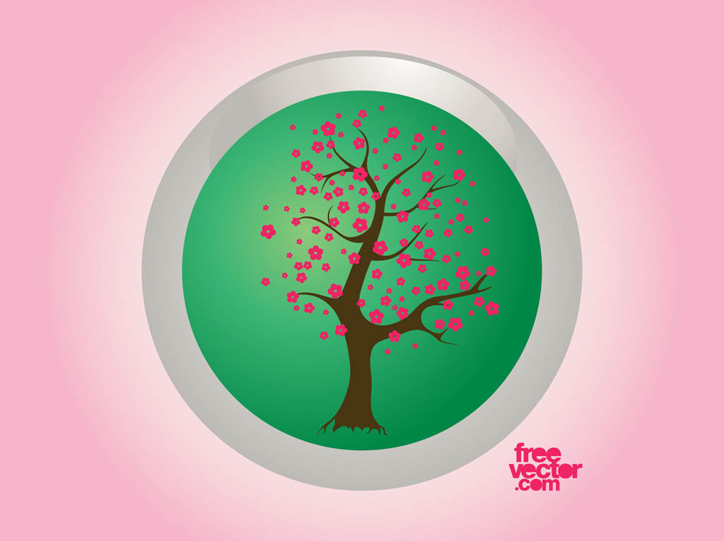 Spring Tree Badge