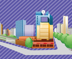 Free City Buildings Vector