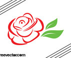 Stylized Rose Graphics