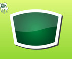 Green Sticker Graphics