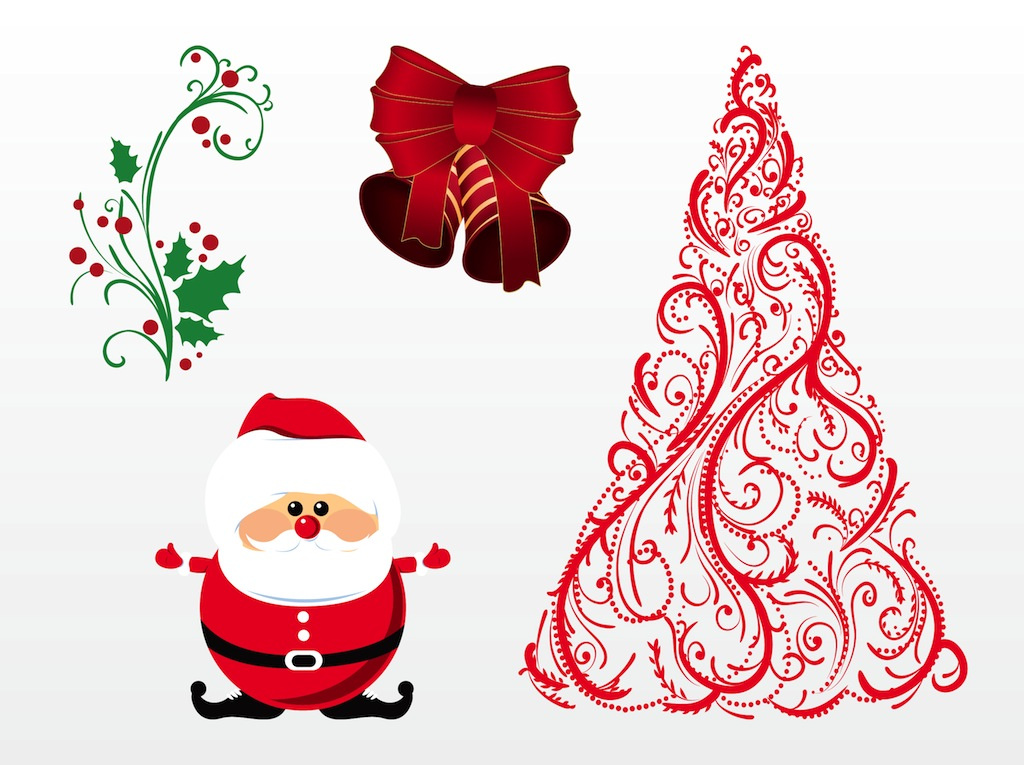 free christmas vector clipart - photo #8