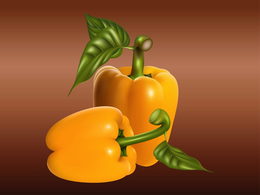 Realistic Peppers