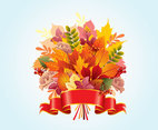 Autumn Leaf Vector Design