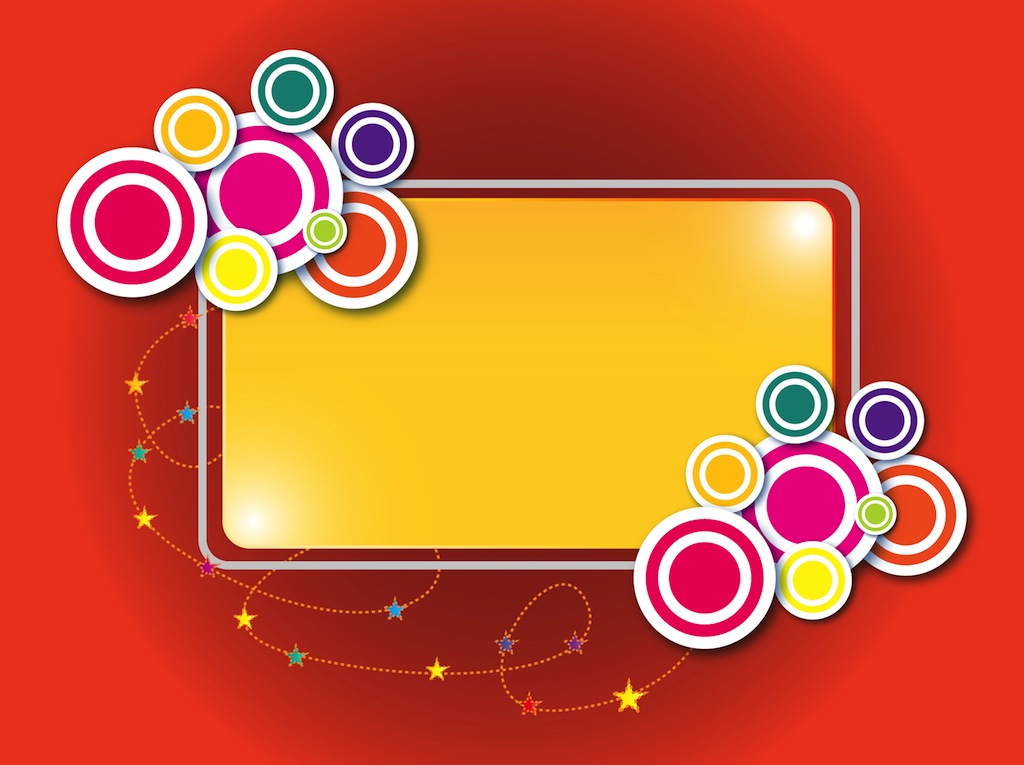 Colorful Label Template Vector Vector Art & Graphics ...