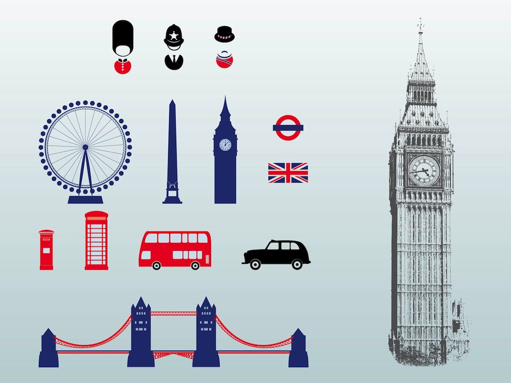 Line Drawing London : London vectors vector art graphics freevector