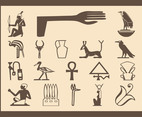 Egyptian Symbols Set