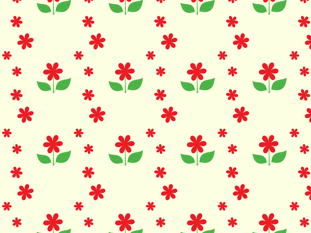 Flowers Seamless Pattern