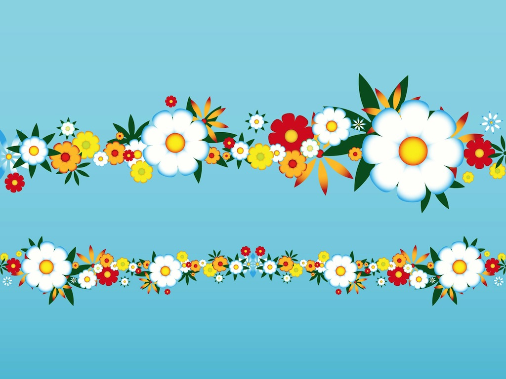 vector clipart flowers - photo #33