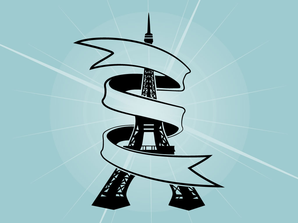 Eiffel Tower Ribbon