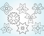 Flower Sketch Vectors