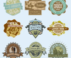Vintage T-Shirt Labels