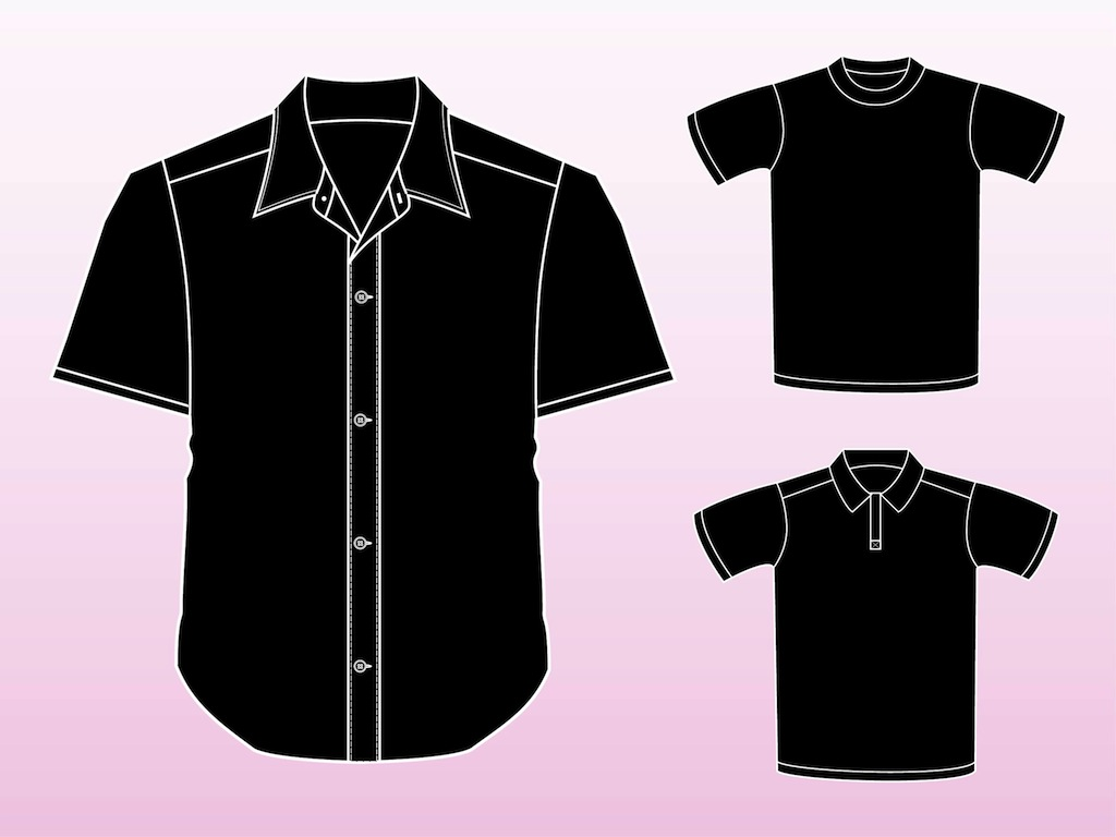 shirt template vector the image kid has it. Black Bedroom Furniture Sets. Home Design Ideas