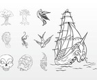 Marine Tattoos