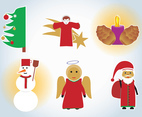 Xmas Vector Drawings