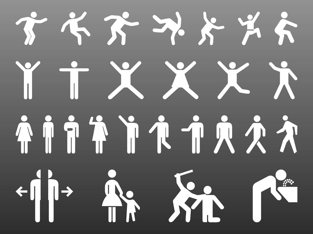 People Pictograms Graphics
