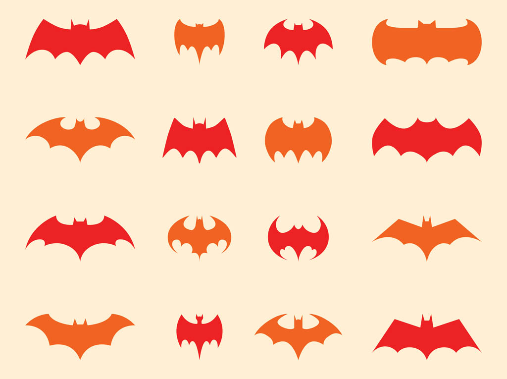batman logo vector