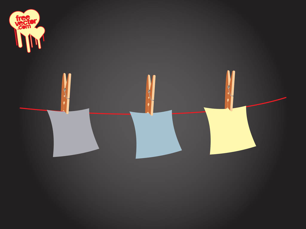 Notes On Clothes Line