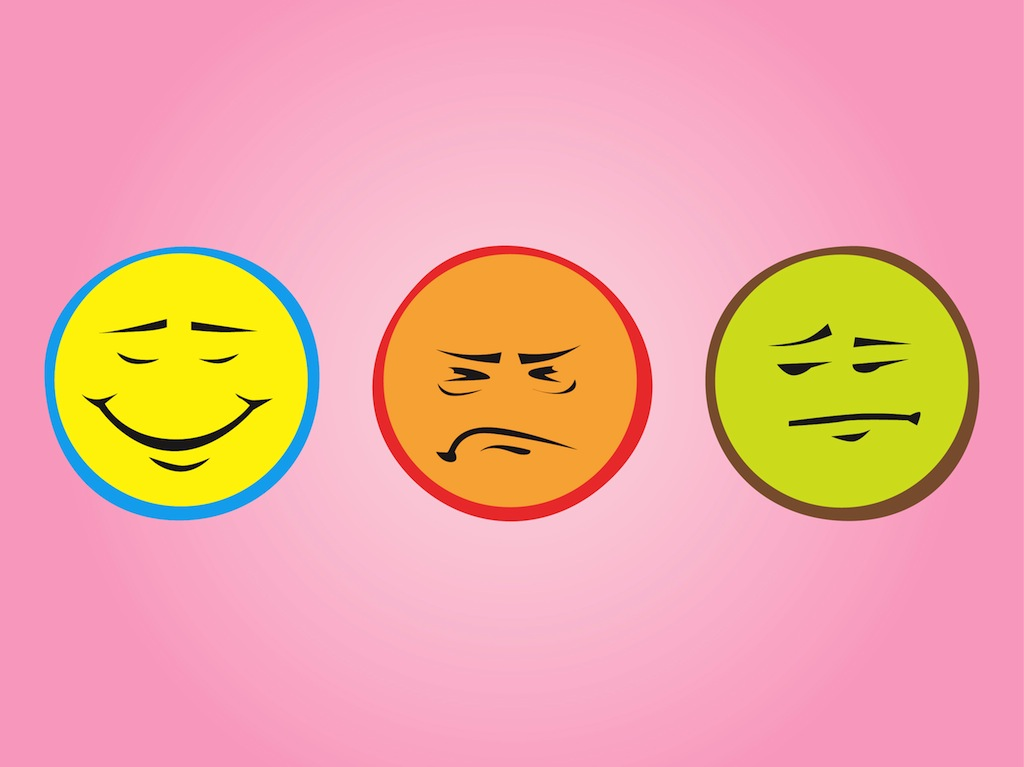 Colorful Emoticons