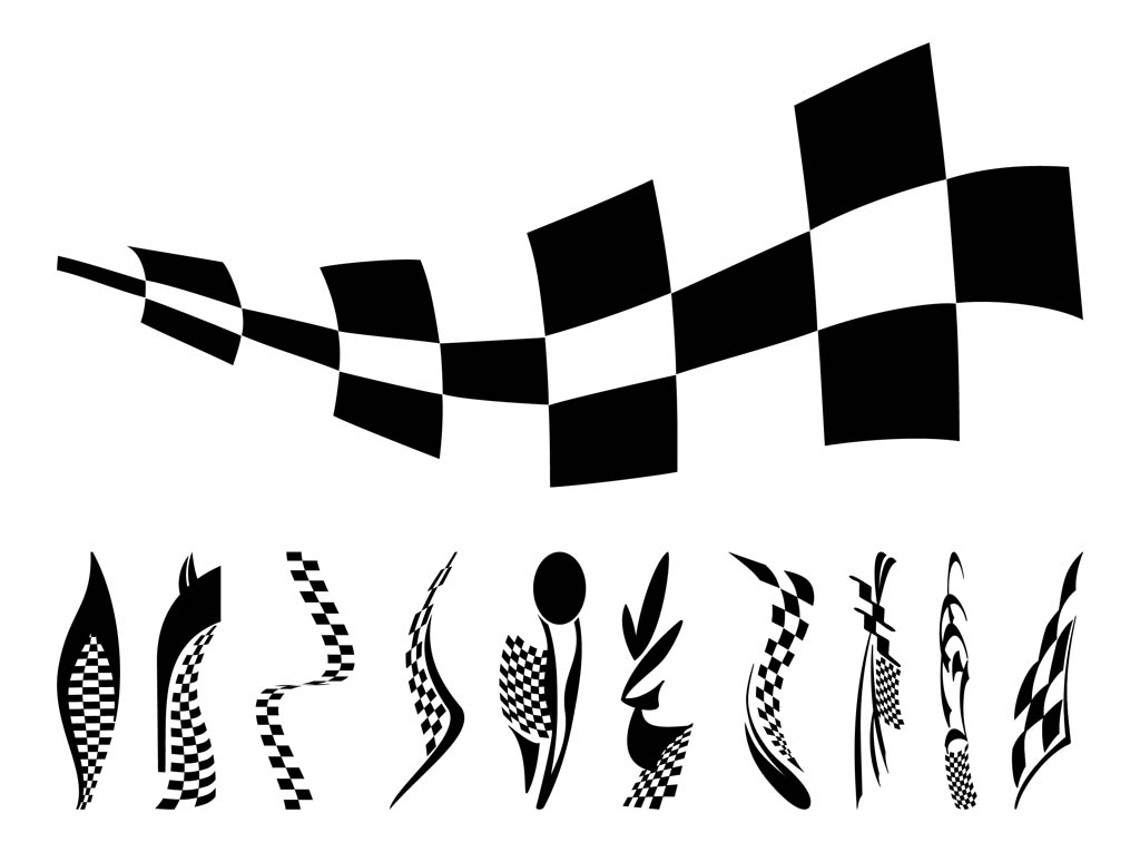 free race car flag clip art - photo #41