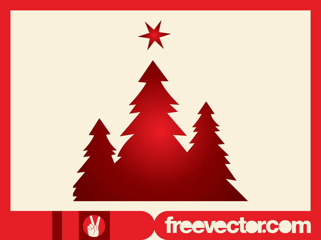 Christmas Trees Silhouettes Clip Art Vector Art Amp Graphics