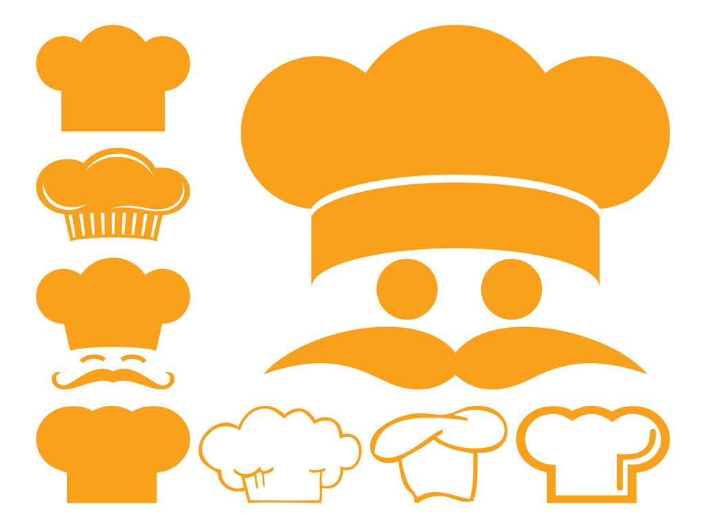 Pics Photos - Chef Hat Restaurant Vector Clipart And Illustrations