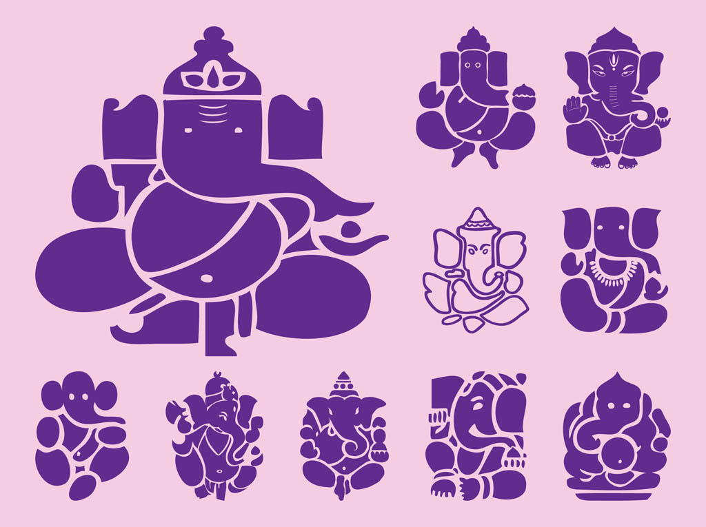 Ganesha Icons Graphics