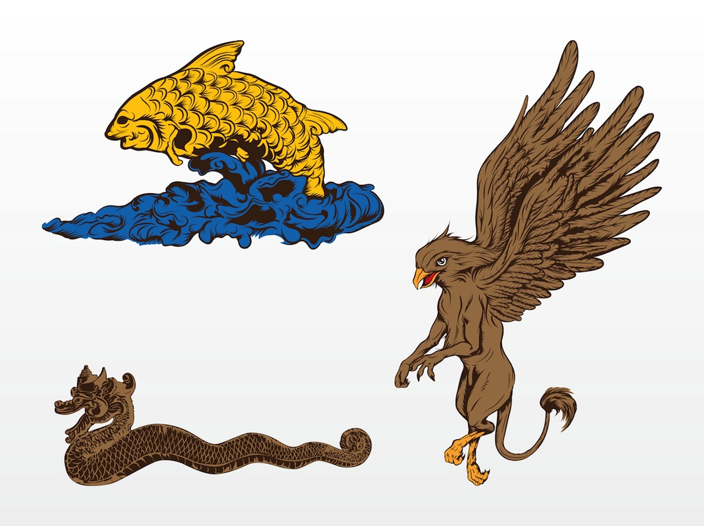 clip art mythical animals - photo #30