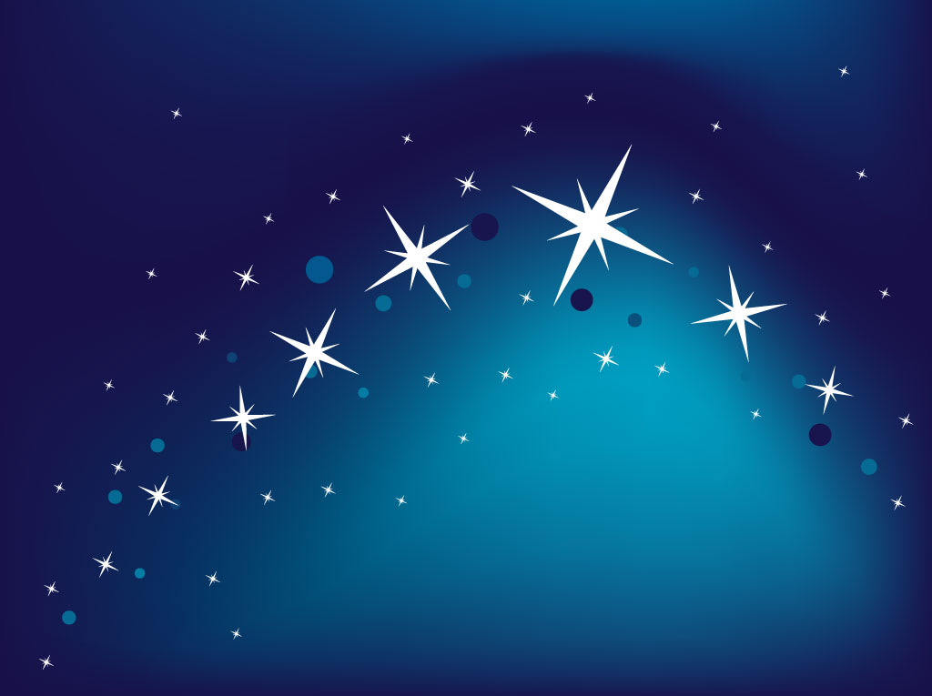 blue star background - photo #8
