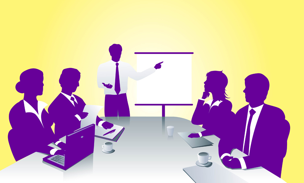 employee meeting clipart - photo #46