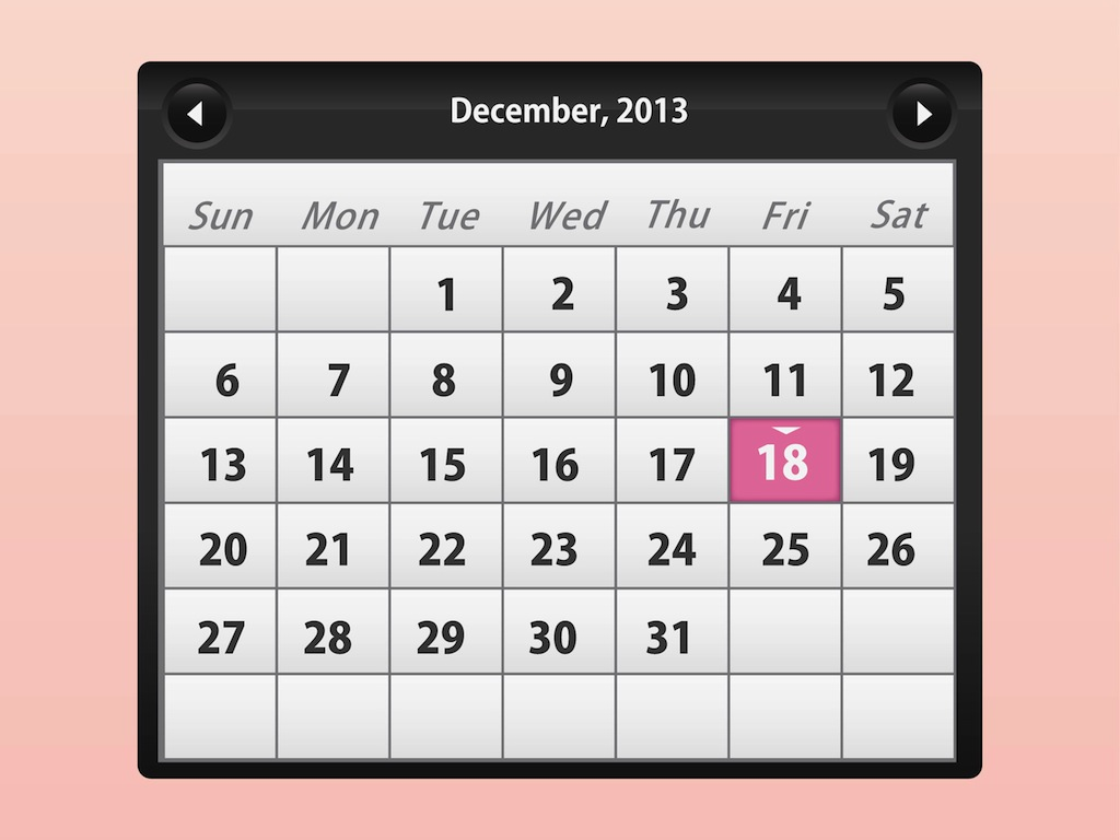 Calendar Pages Vector : Calendar vector art graphics freevector