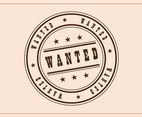 Wanted Badge