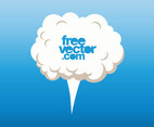 Cartoon Cloud Vector