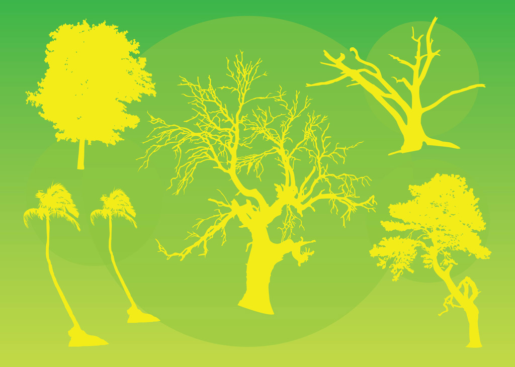 Trees Vector Graphics