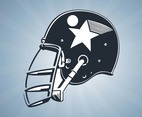 Hockey Helmet Vector
