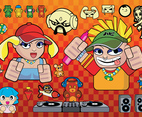 Cartoons Vector Graphics