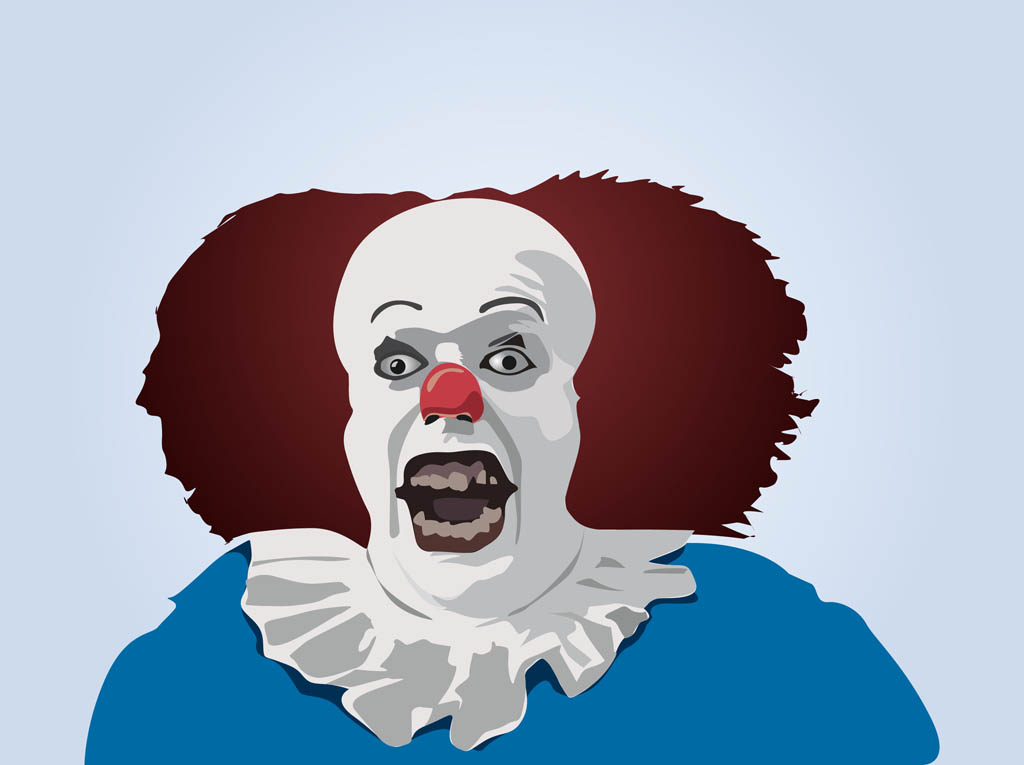 Pennywise Vector Art Graphics Freevector