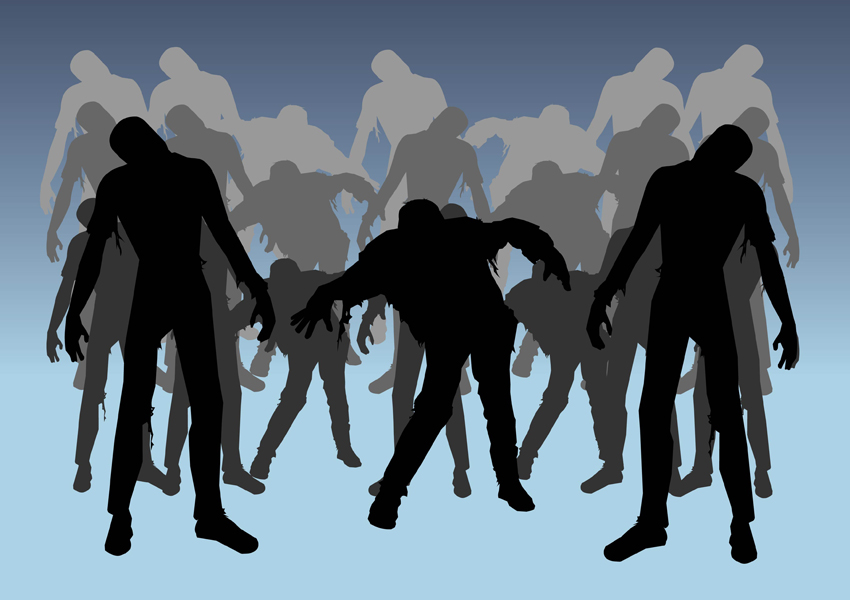 free zombie clipart images - photo #36
