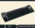 Black PC Keyboard