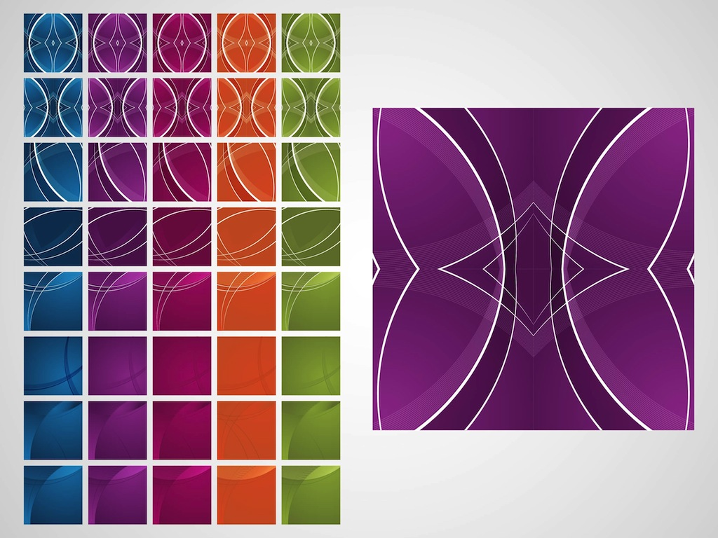Colorful Tiles Vector