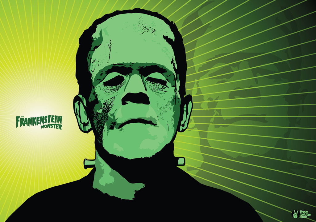 Frankenstein Vector Vector Art & Graphics | freevector.com