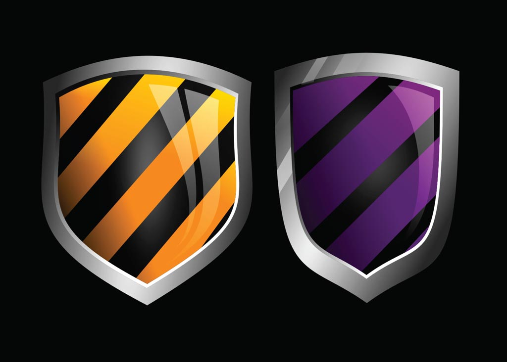 Glossy Vector Shields Vector Art & Graphics   freevector.com